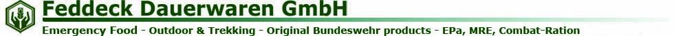 Feddeck Dauerwaren-Logo