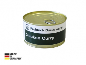 Canned ready meal, Chicken Curry 400 g