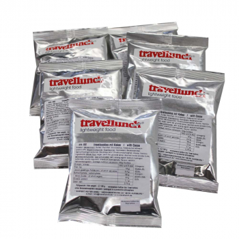 5 x 100 g Travelcookies with Cocoa Flavour