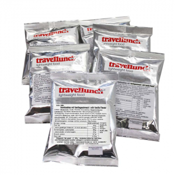 5 x 100 g Travelcookies with Vanilla Flavour