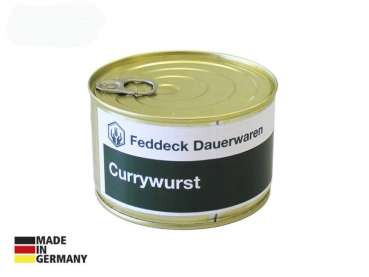 Canned ready meal, Curry Sausage, 400 g