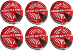 6 x 100 g Scho-Ka-Kola Dark chocolate, Energy chocolate, with caffeine