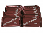 20 x 50 g Chocolate bars, original production of the German Armed Forces